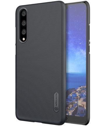 Nillkin Super Frosted Shield Huawei P20 Pro Zwart Hoesjes