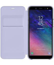 Samsung Galaxy A6 Wallet Cover Lavender