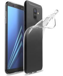 Samsung Galaxy A6 Hoesje Dun TPU Transparant