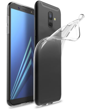 Samsung Galaxy A6 Hoesje Dun TPU Transparant Hoesjes