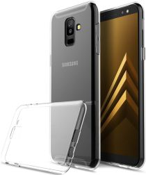 Samsung Galaxy A6 Plus Hoesje Dun TPU Transparant
