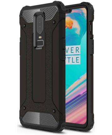 OnePlus 6 Hybride Hoesje Zwart