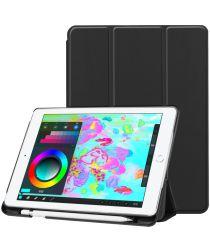 Apple iPad 2017 / 2018 / Air / Air 2 Tri-Fold Hoes Zwart