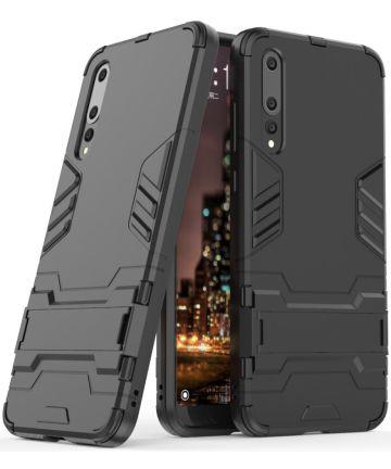 Huawei P20 Pro Hybride Hoesje Zwart