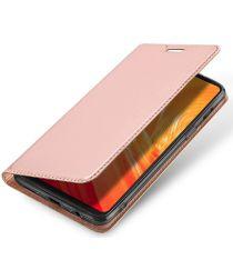 Dux Ducis OnePlus 6 Premium Bookcase Hoesje Roze Goud