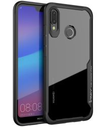 Ipaky Hybrid Back Cover Case Huawei P20 Lite Zwart