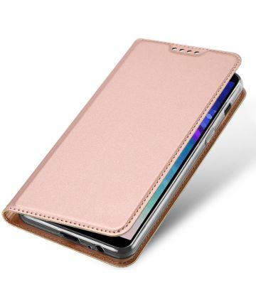 Dux Ducis Premium Book Case Samsung Galaxy A6 Hoesje Roze Goud Hoesjes