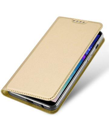 Dux Ducis Book Case Samsung Galaxy A6 Plus Hoesje Goud Hoesjes