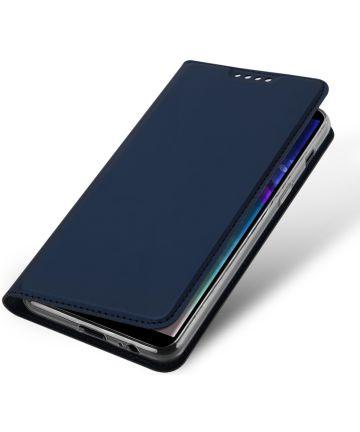 Dux Ducis Book Case Samsung Galaxy A6 Plus Hoesje Blauw
