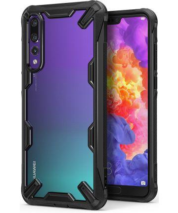 Ringke Fusion X Huawei P20 Pro Hoesje Doorzichtig Black Hoesjes