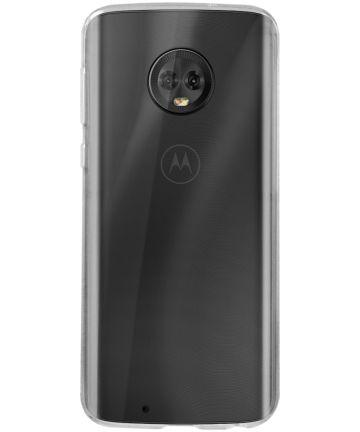 Originele Moto G6 Back Cover Transparant Hoesjes
