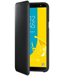 Samsung Galaxy J6 (2018) Wallet Cover Zwart