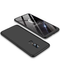 OnePlus 6 Matte Back Cover Zwart