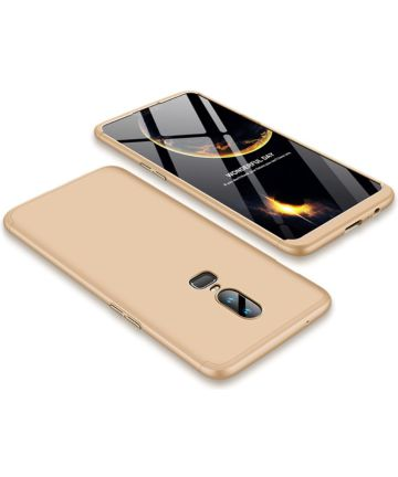 OnePlus 6 Matte Back Cover Goud