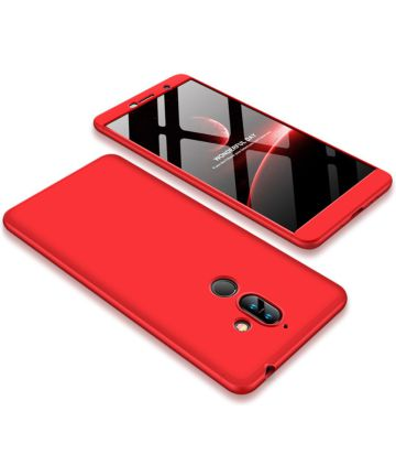 Nokia 7 Plus Matte Back Cover Rood
