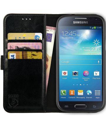 Rosso Element Samsung Galaxy S4 Mini Hoesje Book Cover Zwart Hoesjes