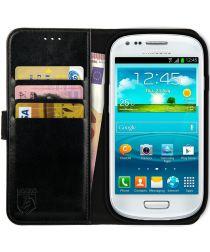 Rosso Element Samsung Galaxy S3 Mini Hoesje Book Cover Zwart