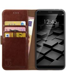 Rosso Element LG G6 Hoesje Book Cover Bruin