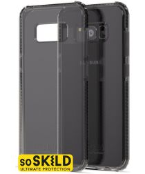 SoSkild Galaxy S8 Grijs Hoesje Defend Heavy Impact Backcover