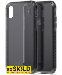 SoSkild iPhone XS / X Grijs Hoesje Defend Heavy Impact Backcover