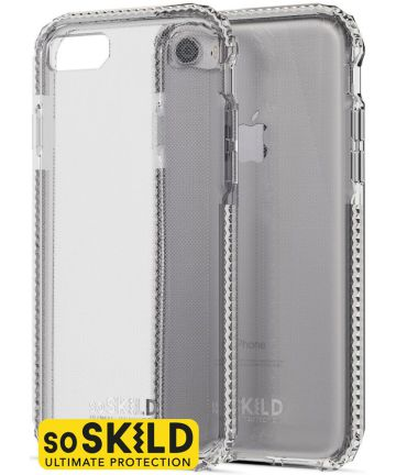 SoSkild iPhone 8 / 7 Transparant Hoesje Defend Heavy Impact Backcover