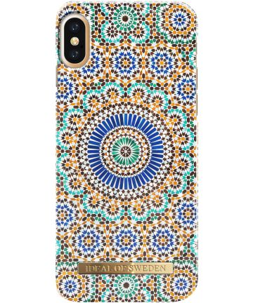 iDeal of Sweden iPhone XS / X Fashion Hoesje Moroccan Zellige