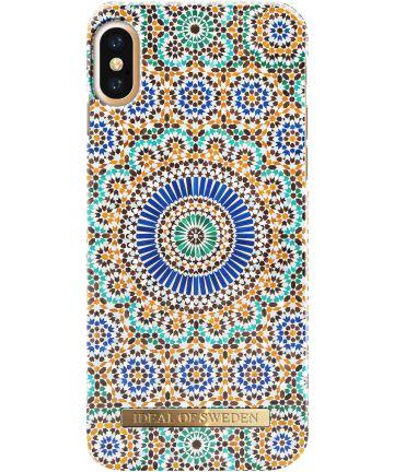iDeal of Sweden iPhone XS / X Fashion Hoesje Moroccan Zellige Hoesjes