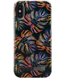 iDeal of Sweden iPhone XS / X Fashion Hoesje Neon Tropical