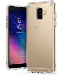 Ringke Fusion Samsung Galaxy A6 2018 Hoesje Doorzichtig Clear