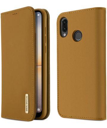 Dux Ducis Wish Series Huawei P20 Lite Hoesje Khaki