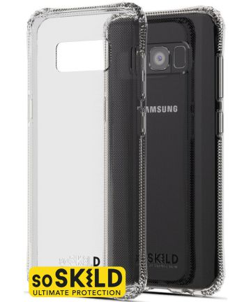SoSkild Galaxy S8 Transparant Hoesje Absorb Impact Backcover Hoesjes