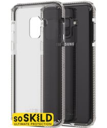 SoSkild Galaxy A8 2018 Transparant Hoesje Defend Impact Backcover