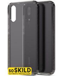 SoSkild Huawei P20 Grijs Hoesje Defend Heavy Impact Backcover