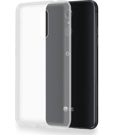 LG Q7 Hoesje Dun TPU Transparant
