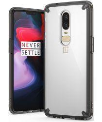 Ringke OnePlus 6 Fusion Hoesje Smoke Black