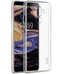 IMAK Crystal II Series Nokia 7 Plus Hoesje Hard Plastic Transparant