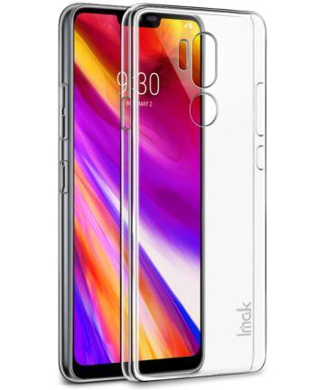 IMAK Crystal II Series LG G7 Hoesje Hard Plastic Transparant