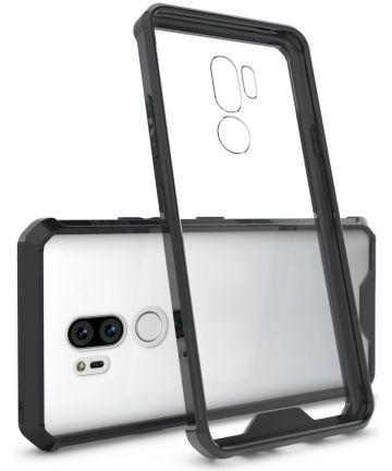 LG G7 Hoesje Armor Backcover Zwart