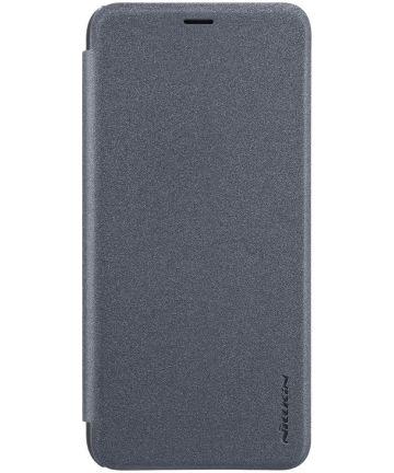 Nillkin Sparkle Series Samsung Galaxy A6 Zwart Hoesjes
