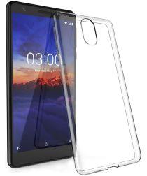 Nokia 3.1 Hoesje Dun TPU Transparant