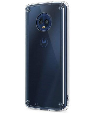 Ringke Fusion Motorola Moto G6 Hoesje Doorzichtig Clear