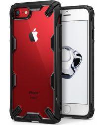 Ringke Fusion X Apple iPhone 7 / 8 Hoesje Doorzichtig Zwart