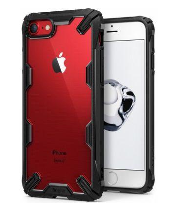 Ringke Fusion X Apple iPhone 7 / 8 Hoesje Doorzichtig Zwart Hoesjes
