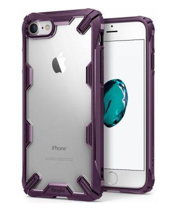 Ringke Fusion X Apple iPhone 7 / 8 Hoesje Doorzichtig Paars
