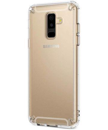 Ringke Fusion Galaxy A6 Plus (2018) Hoesje Doorzichtig Transparant Hoesjes