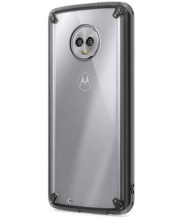 Ringke Fusion Motorola Moto G6 Hoesje Doorzichtig Zwart Hoesjes