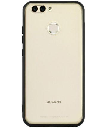 Huawei Y6 (2018) Hoesje Armor Backcover Zwart