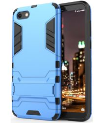 Huawei Y5 (2018) Hybride Hoesje Blauw