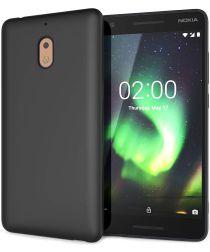 Nokia 2.1 TPU Hoesje Zwart