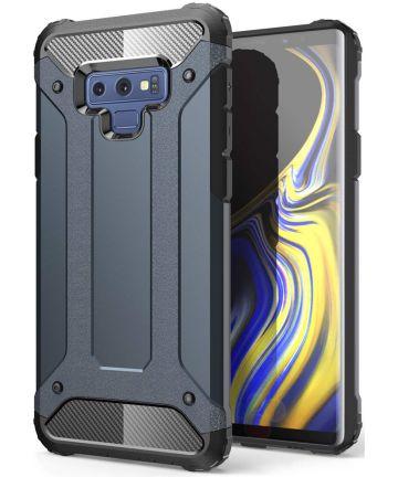 Samsung Galaxy Note 9 Hybride Hoesje Blauw Hoesjes